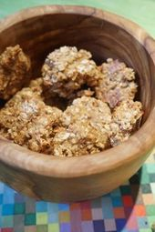 Applesauce oatmeal cookies as a healthy snack.