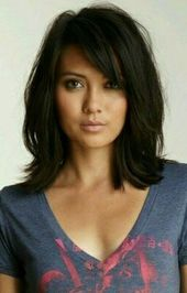 22+ Trendy Hair Cuts Shoulder Length Bangs Fringes Haircuts