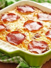 Spaghetti-Pizza: Ein Traum aus Pasta und Pizza