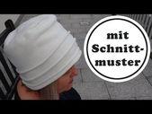 kuschliger Hut nähen aus Fleece – mit Schnittmuster in 3 Grössen – YouTube –  – #Kurzhaarfrisuren