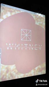 Whitney Minimal Layered Name Logo Design Video Logo Design Tutorial Logo Design Trends Logo Design Video