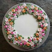 Еще Пины для вашей доски «торты кремовые»    … – Cake Decorating