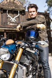 Orlando Bloom und seine neue Deus Ex-Maschine Custom BMW S 1000 R – Projekte …   – Schöne Motorrad Mädchen