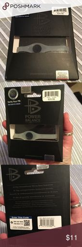 Power Balance Performance Band (clear), Unisex, SM Never opened. Clear Silicone band, Size Small. Hologram technology for sports and every day life! S…