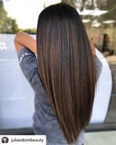 Melted chocolate brown is the perfect hair color for fall! The fall season is ri… – Hair Color Ideas & Hair Dye Tips