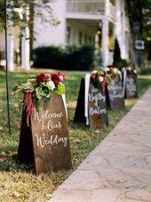 15 decoration ideas for rustic theme wedding
