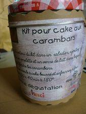 equipment à cake aux carambars – cadeau de fin d'année – Le fil de mes passions