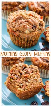 b326f904405a316eabc019849f445ff8 My Favorite Morning Glory Muffins   Baker by Nature