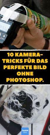 10 Fotografie-Tricks, die Photoshop alt aussehen lassen.