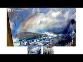 Furchtloses Winter-Aquarell. Vollständiges Tutorial, wie man locker malt. – Sie …