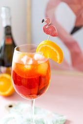Spritz Cocktail bei Prosecco Mr. Giuseppe   – Recettes