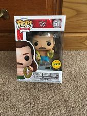 Up For Sale Is A Jake The Snake Roberts Funko Pop Chase Version