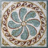 wave mosaic decor pics – Google Search