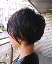 30 nouvelles photos de coupes de cheveux courtes pour un look superbe   – Frisuren