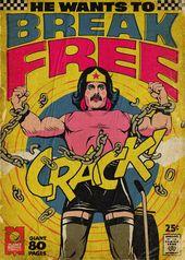 Il transforme les plus célèbres titres de Queen en couvertures de comics vintages