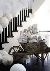 99 elegante weiße Vintage Weihnachtsdekoration Ideen   – Holiday ideas
