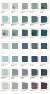The paint colors of Joanna Gaine's Magnolia Home paint line are stunning! The same colors she uses on Fixer Upper