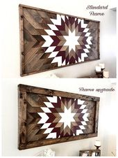 Reclaimed wood wall art wood wall decor wood art modern
