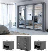 instrument CLEO 2 bedroom set 250cm [grey matt]