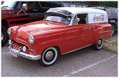 Opel, olympischer Rekord, ein Wohnwagen aus den Baujahren 53/54   – cars