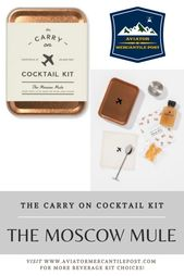 Cocktail Kit: Das Moskauer Maultier