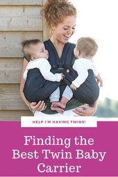 Baby Carrier Finding the Best Twin Baby Carrier
