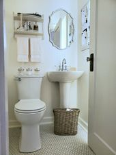 ORC Week 6 Reveal: 1920's Tiny Powder Room Revival – Follow The Yellow Brick Home