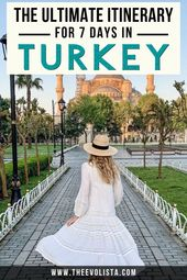 The Ultimate 7 Day Turkey Itinerary & Travel Guide