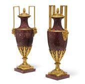 A pair of good quality Louis XVI style gilt bronze…