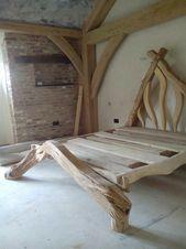 Sieht aus wie das Bett eines Waldelfen ♥ – #bed #elfs …
