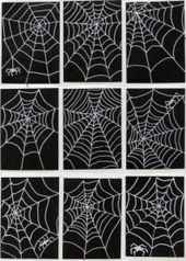 Draw Spider Webs · Art Projects for Kids