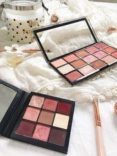£ 4 DUPE für £ 25 Lidschatten-Palette von Huda Mauve Obsessions. Makeup Revolution neu …   – Beauty Routine Makeup