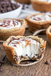 These chewy Chocolate Chip Cookie Cups are truly one of the easiest desserts you…