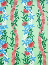 Lehulehu Lei Green Poly Cotton LW-18-641