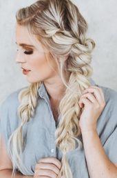 ✔ Hairstyles wedding guest ponytail #balayage #blonde #hairinspo, #balayage #blonde #Fris …