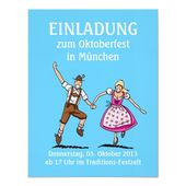 Invitation Oktoberfest Munich Couple Love | Zazzle.com