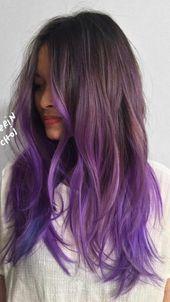 Inspirierende Haarfarben für 2019   – Haarfarbe 2018