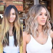 Hair length 2019 – #length – #Genel #haircolorbalayage