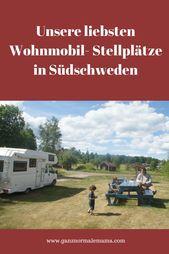 Unsere Lieblings-Wohnmobilstellplätze in Schweden