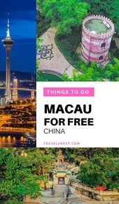 50 FREE Things To Do In Macau