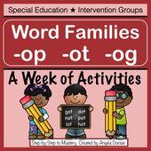 Phonemisches Bewusstsein und Wortfamilienaktivitäten. Enthält die Forschung von Davi … – Language Arts