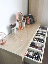 #ikea #ikeafurniture – ikeakartal.com – Mein Make-Up Store: Mit dem Ikea Ma – Einrichten & Dekorieren