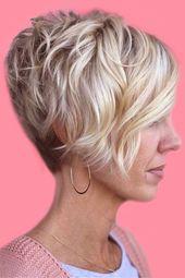 11 Platinum Pixie Frisur Ideen für kurze Haare – # Frisuren # Kurzhaarfrisuren