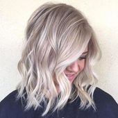 50 Ash Blonde Hair Color Ideas 2019 – Neueste Haarfarben #haircolorbalayage #brownhair