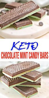 BEST Keto Candy! Low Carb Keto Chocolate Mint Candy Bars Idea – Quick & Easy Ketogenic Diet Recipe Copycat Andes Mint – Completely Keto Friendly – Gluten Free – Sugar Free