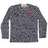 CDG Play x Matt Groening Mens Long Sleeve T Shirt | Long
