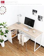 16 Moderner Computertisch für Ihr Home Office – Einrichten und Wohnen