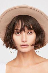 Wythe Leather Band Felt Hat – Hair