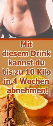 Mit diesem Drink kannst du bis zu 10 Kilo in 4 Woc…