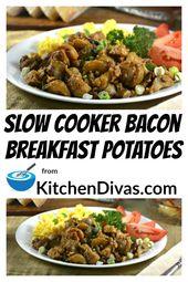 Patatas de desayuno de cocción lenta   – Crock pot meals